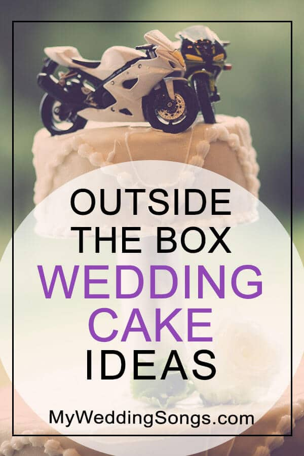 wedding cake topper ideas non-traditional
