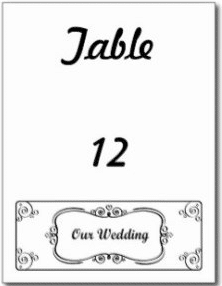 Offbeat Wedding Table Number Ideas
