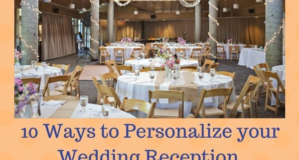 personalize your wedding reception