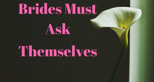 questions brides must ask