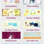 Custom Illustrated Wedding Themes