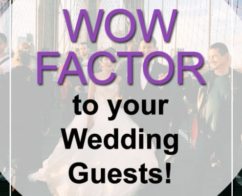 wive wow factor to wedding guests