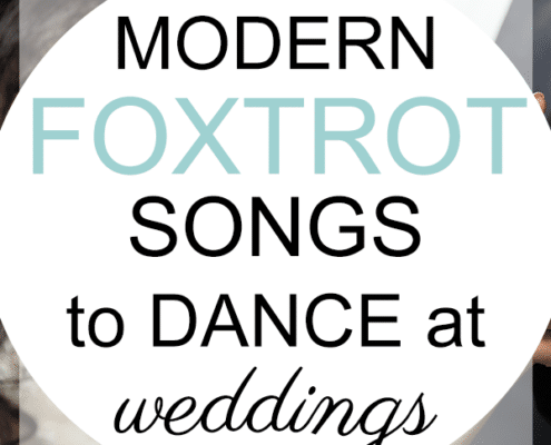modern foxtrot songs dance at weddings