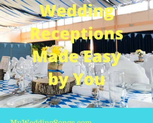 wedding reception made easy