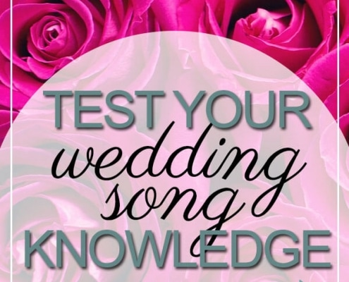 test wedding song knowledge take our quiz
