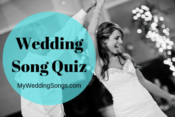 wedding song quiz