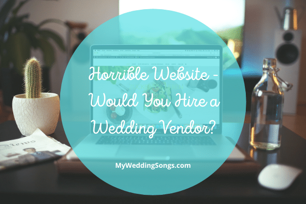 Would You Hire a Wedding Vendor