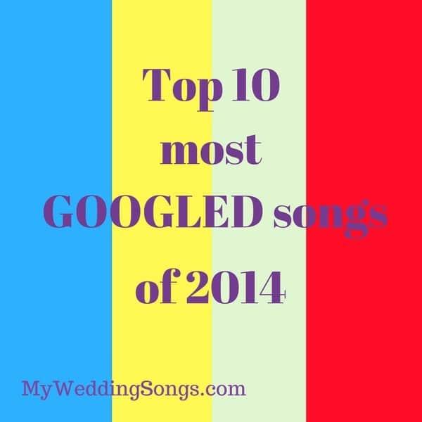 googled songs of 2014