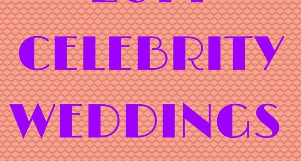 2014 celebrity weddings
