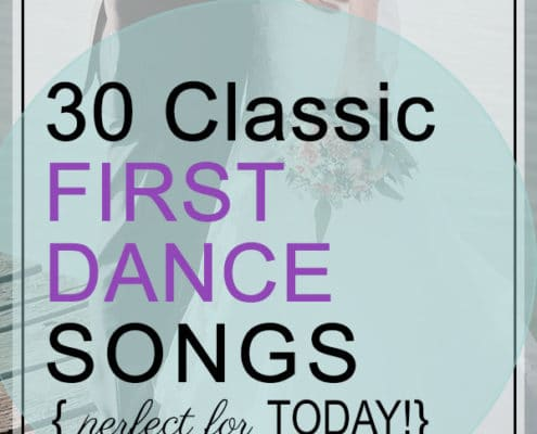 classic first dance songs