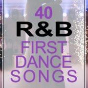 r-n-b first dance songs