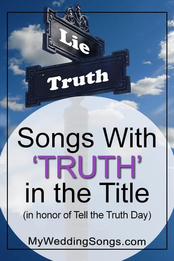 tell the truth songs