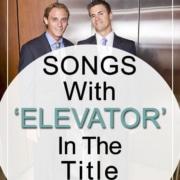 talk in an elevator songs
