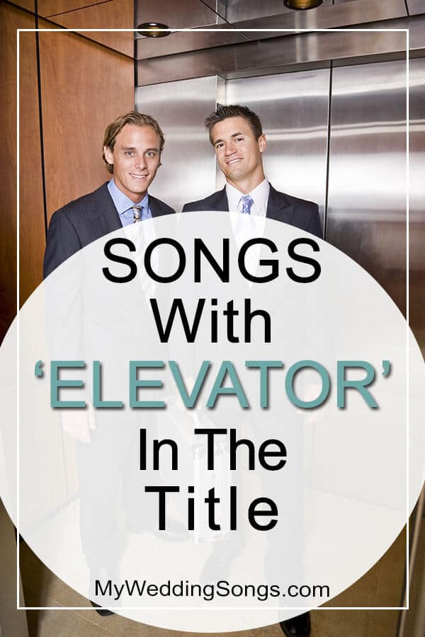 talk in an elevator songs