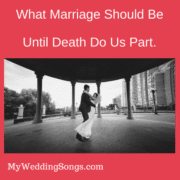 what marriage should be