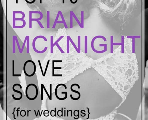 brian mcknight love songs