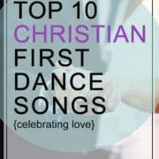Christian first dance songs