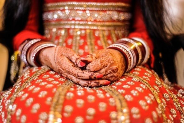 indian wedding henna