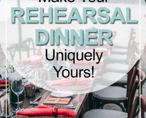 rehearsal dinners uniquely yours
