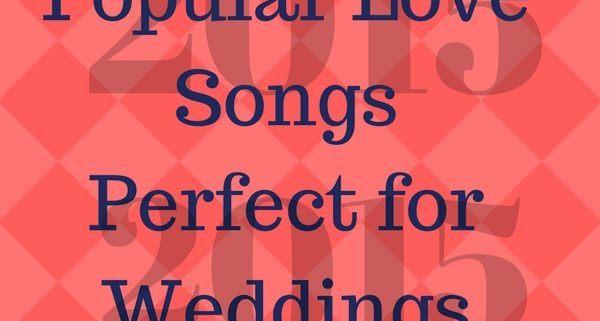 2015 popular love songs