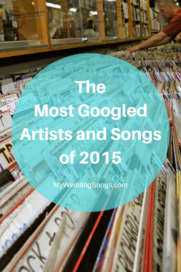 most googled artists songs of 2015