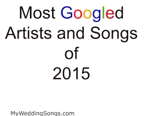 most googled songs 2015
