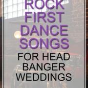 rock first dance songs