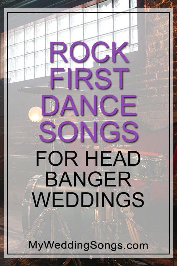 rock first dance songs