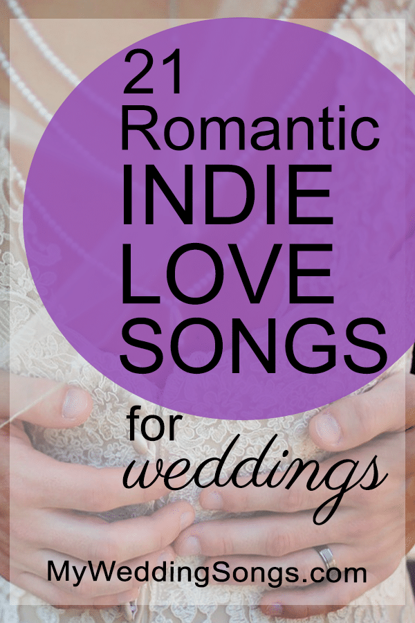 romantic indie love songs for weddings
