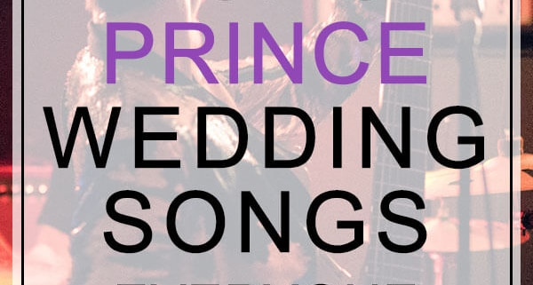 top prince wedding songs