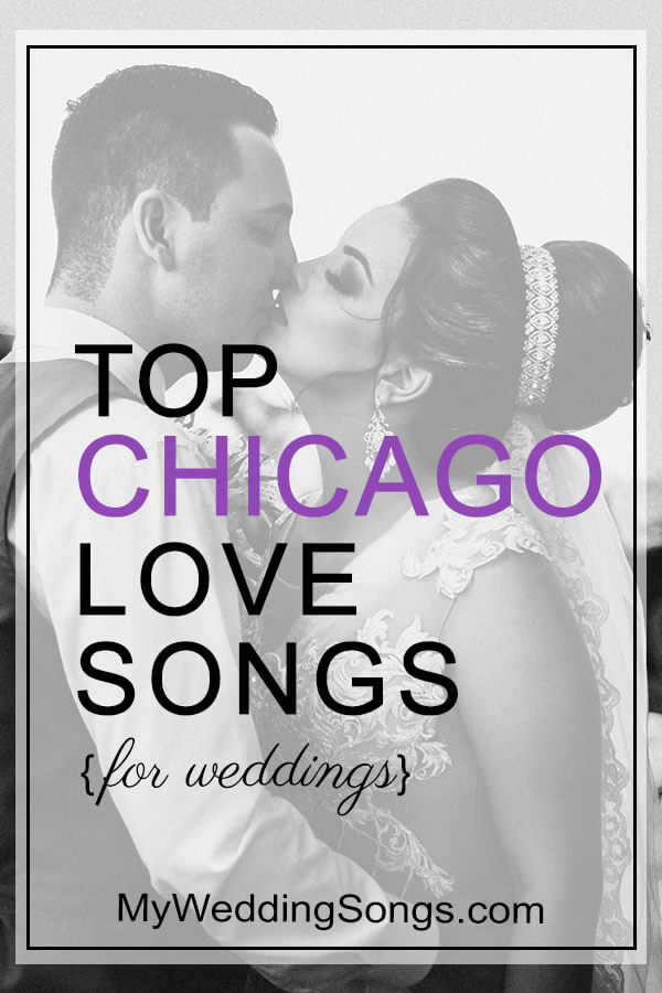 chicago love songs for weddings