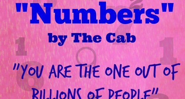 Numbers by The Cab