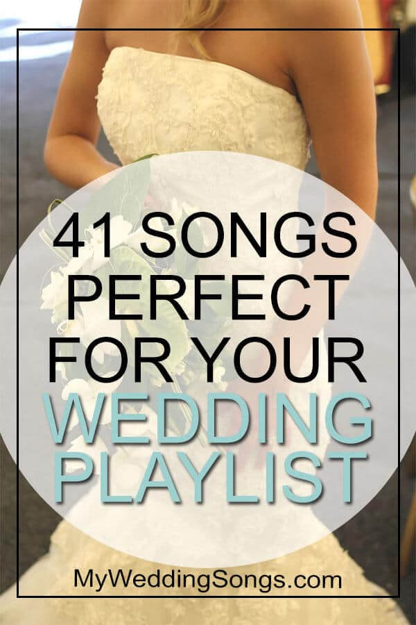 songs perfect for wedding