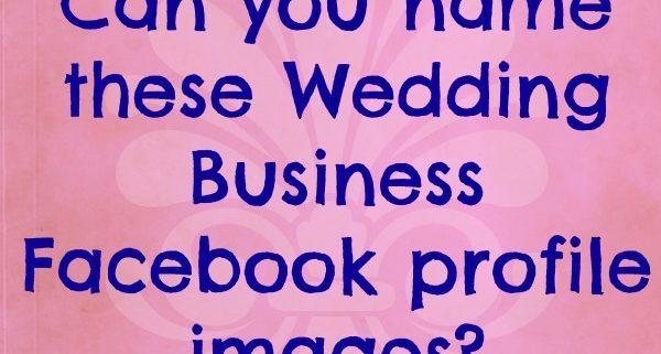 Wedding Business Facebook Quiz