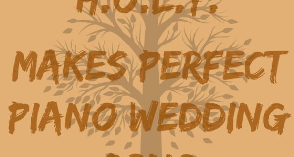 H.O.L.Y. wedding song