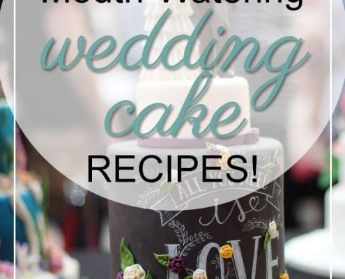 mouth watering wedding cake recipes