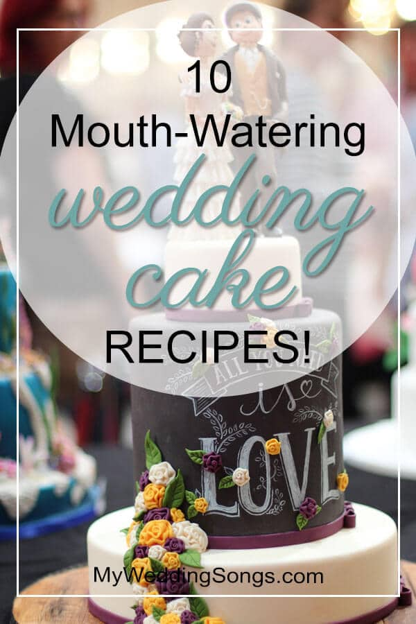 mouth-watering wedding cake recipes