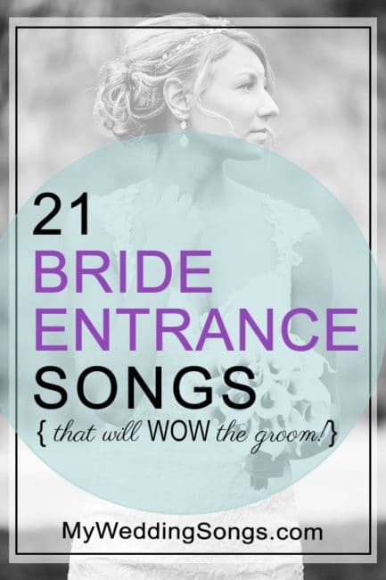 Popular Bridal Entrance Songs: 21 Bride Entrance Songs That Are Sure To Wow The Groom