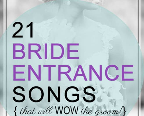 bride entrance songs wow the groom