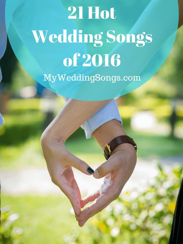 2016 Wedding Songs