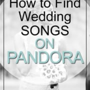 How To Find Wedding Songs On Pandora