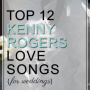 Kenny Rogers Love Songs for Weddings