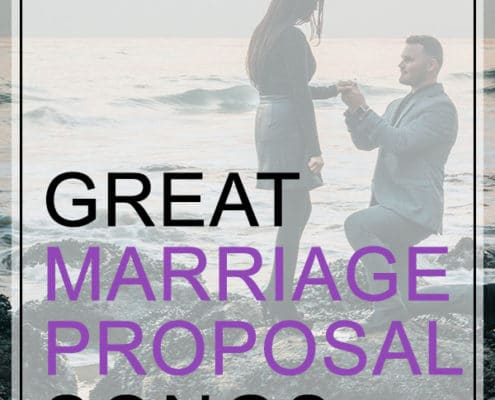 Marriage Proposal Songs