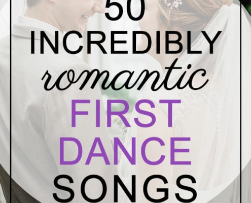 incredibly romantic first dance songs