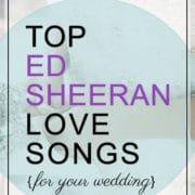 Ed Sheeran Love Songs
