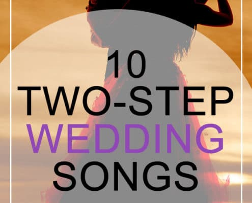 Two-Step Wedding Songs