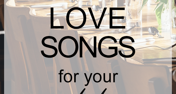 Coldplay love songs for weddings