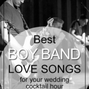 Best Boy Band Love Songs For Cocktail Hour