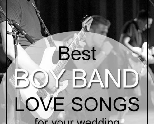 boy band love songs