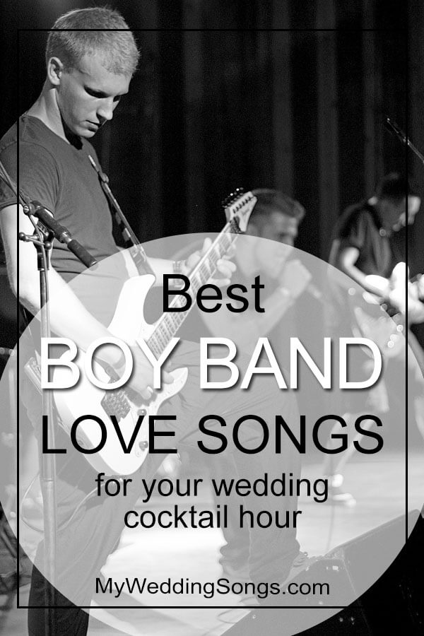 boy band love songs